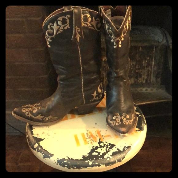 ef6a1c635b0 Durango Size 10M Brown Western Cowgirl Boots